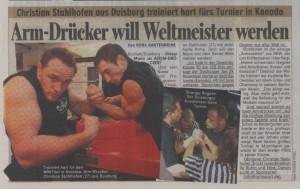 Artikel aus der Bild vom 04.11.08